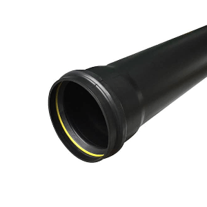 Picture of Industrial Downpipe 3m Black