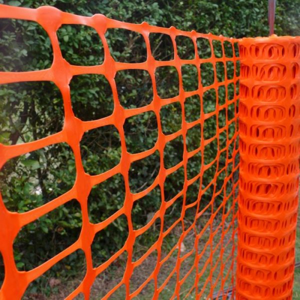 product picture of orange plastic barrier fencing pic 2