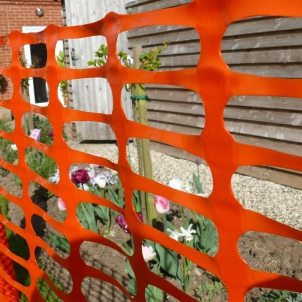 product picture of orange plastic barrier fencing pic 3