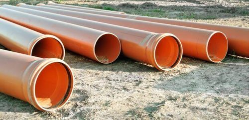 category page picture of 4 lengths of 110mm drainage pipe