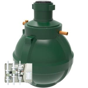 product picture of HydroStore 4500 litre 'Garden Harvest' gravity rainwater harvesting system