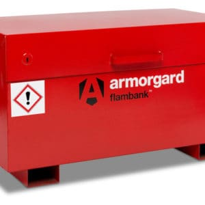product picture of armorgard flambank fb2 site box tool storage closed