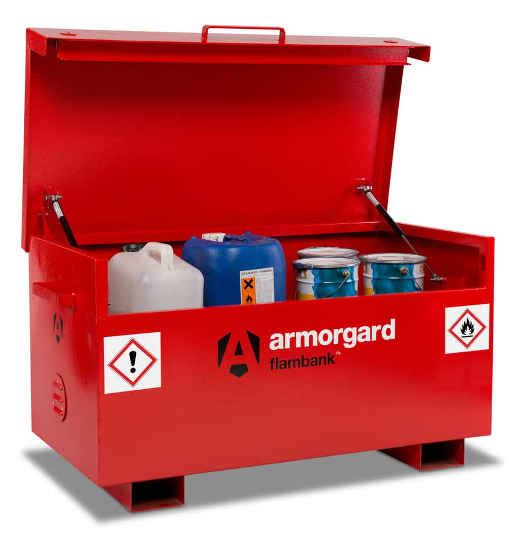 Flambank Site Box Storage Tool Chest | Armorgard FB2