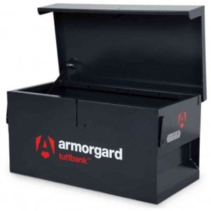 Product picture of armorgard tb1 van tool box lid open