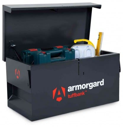 Product picture of armorgard tb1 van tool box with tools inside