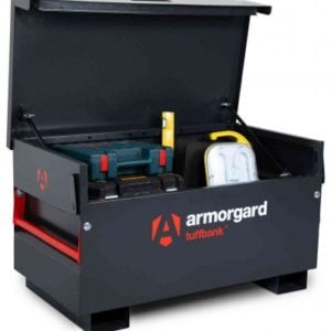 product picture of armorgard tb2 site tool box with tools inside