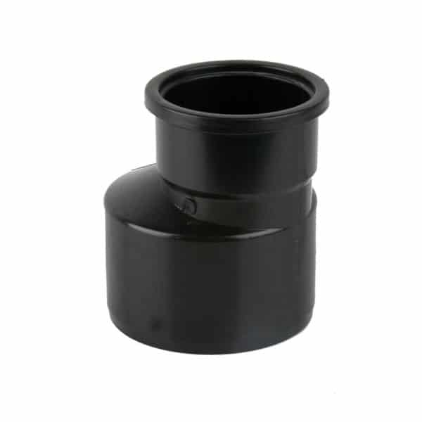 product picture of 160mm - 110mm soil pipe reducer black
