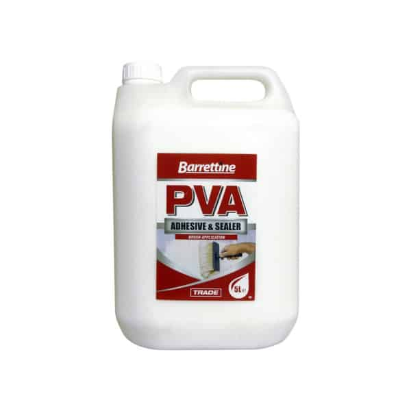 Barrettline PVA Glue Adheive and Sealer 5L image 1