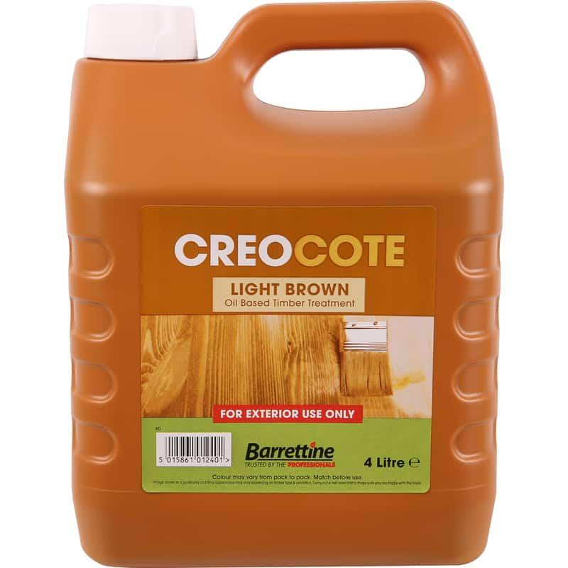 Creocote Shed & Fence Treatment 4L Dark/Light Brown