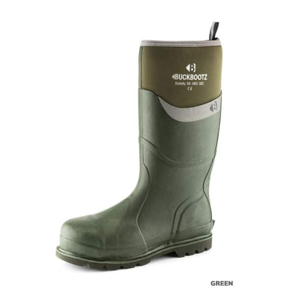 product picture of Buckler BBZ6000 Buckbootz Full Safety Wellies Neoprene Lined