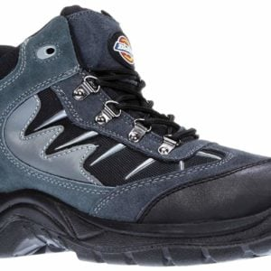 product picture for Dickies Storm Safety Work Boot Black Grey 6-12 Steel Toecap Midsole FA23385A