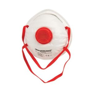 product picture of Silverline Moulded Valved Face Mask FFP3 NR